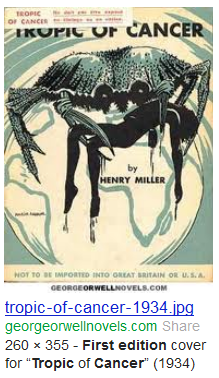 henry miller cancer book