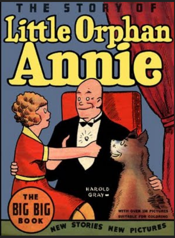 little orphan  annie daddy warbucks baghdad sandy sandy hook