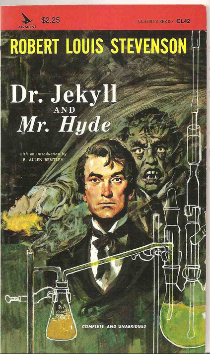 jekyll and hyde  book stevenson