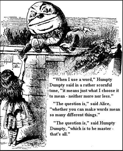 hump dump alice words