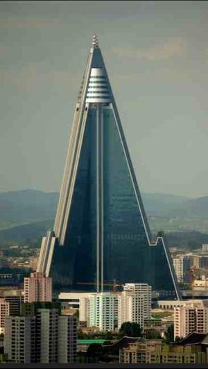 poy vector in North Korea capital